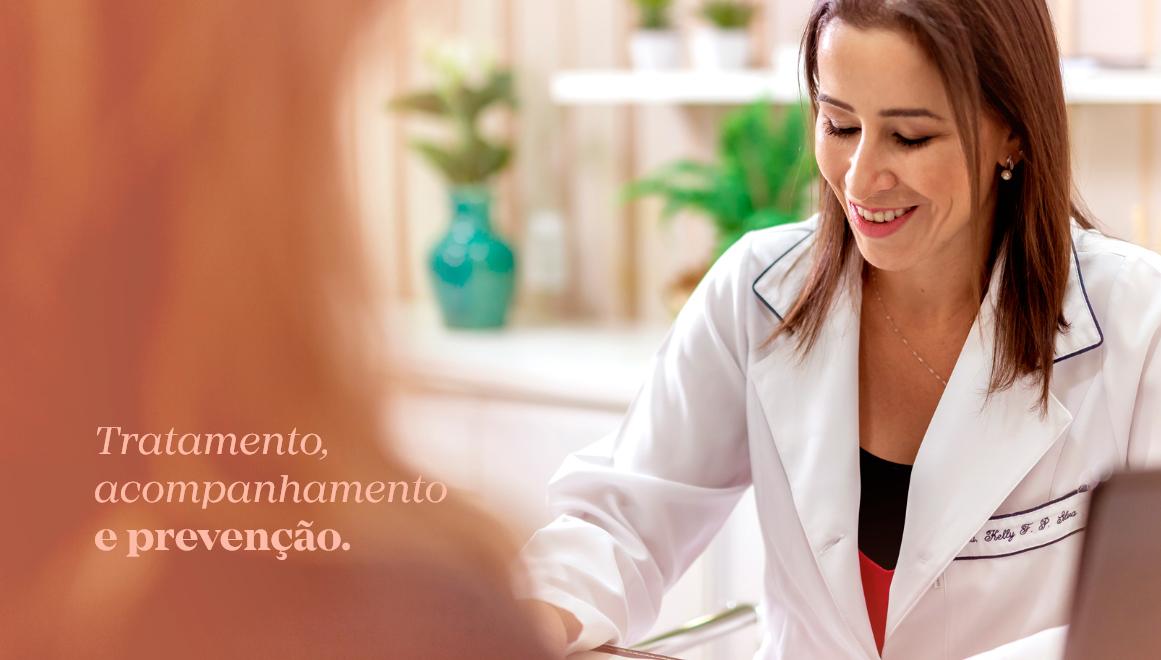Tratamento, acompanhamento e prevenção.